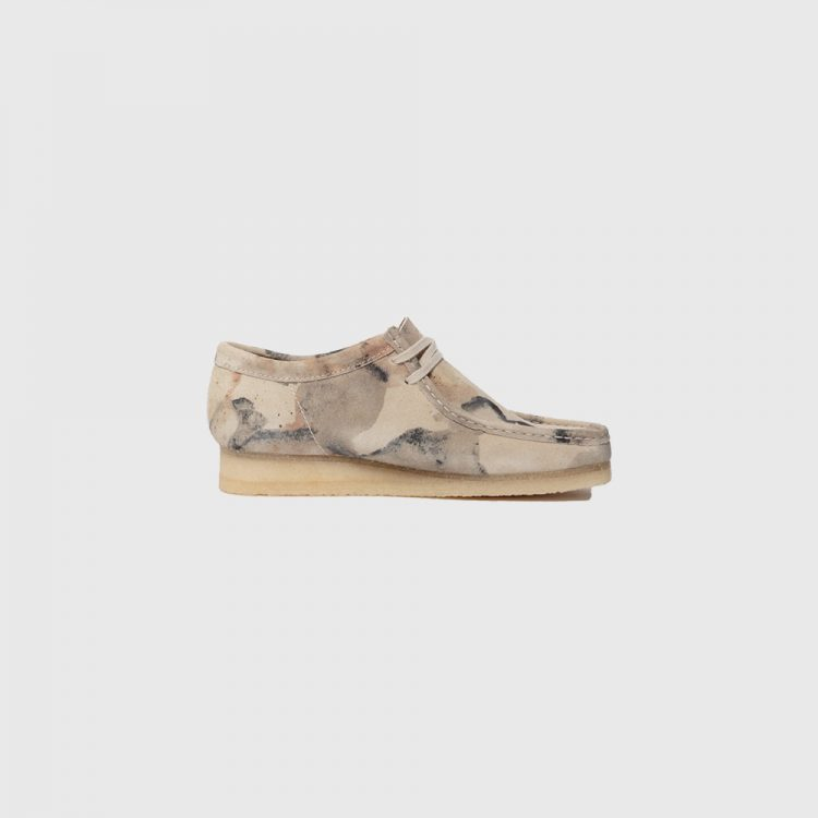 Wallabee M Off White Camouflage